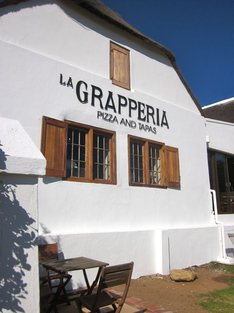 Pizza & Grappa!