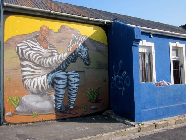Zebra Man!