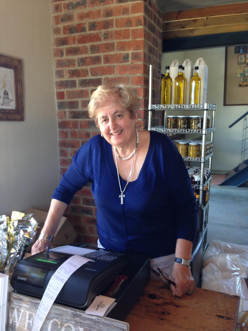 Nicole's Mom Koula - her inspiration in life!