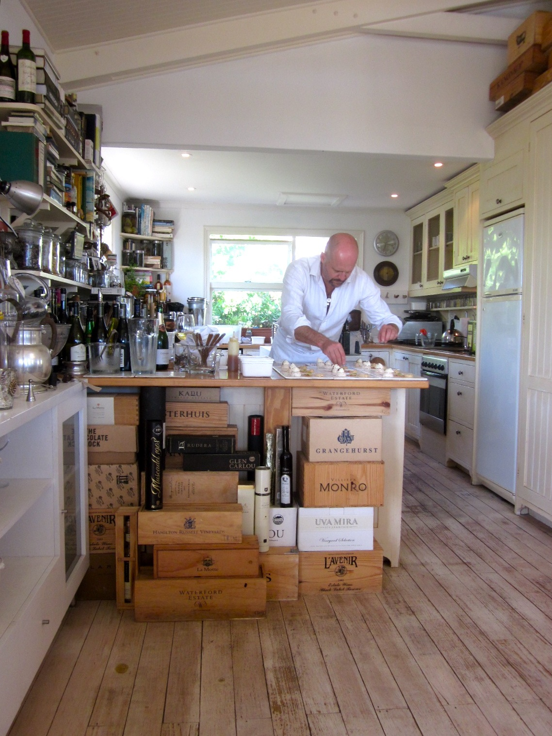 Chef Bruce launches & loves his Table d'Hote in Scarborough