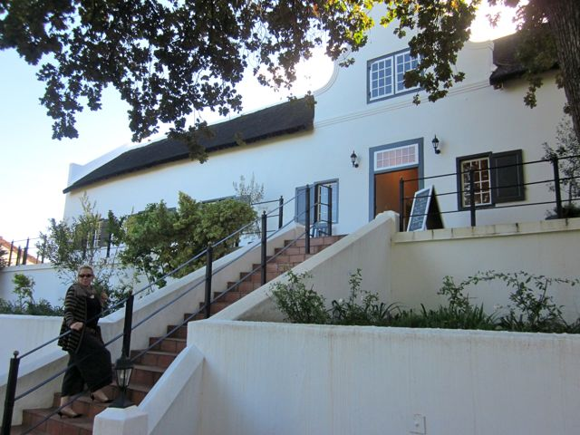 DV Chocolate found its home in the traditional Cape Dutch homestead