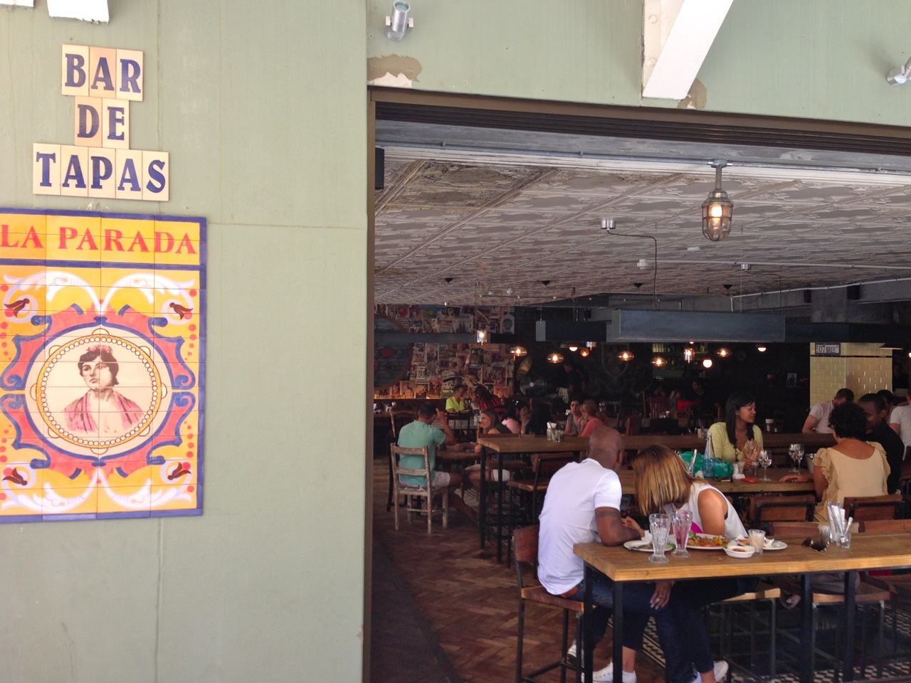 La Parada - as it is one of the newest kids on the block it is always busy! Get there early for a drink!