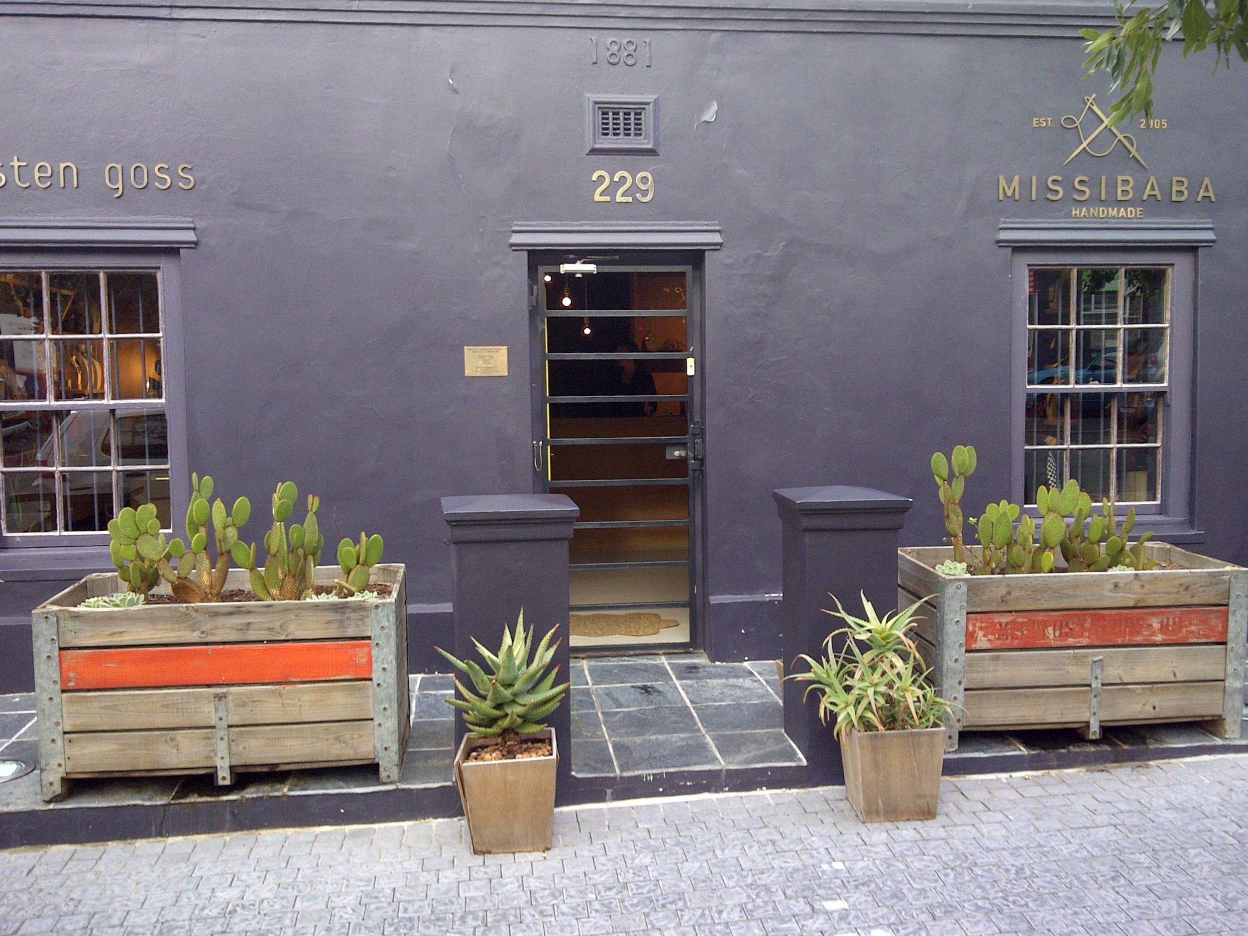 Kirsten Goss and Missibaba Store Bree Street