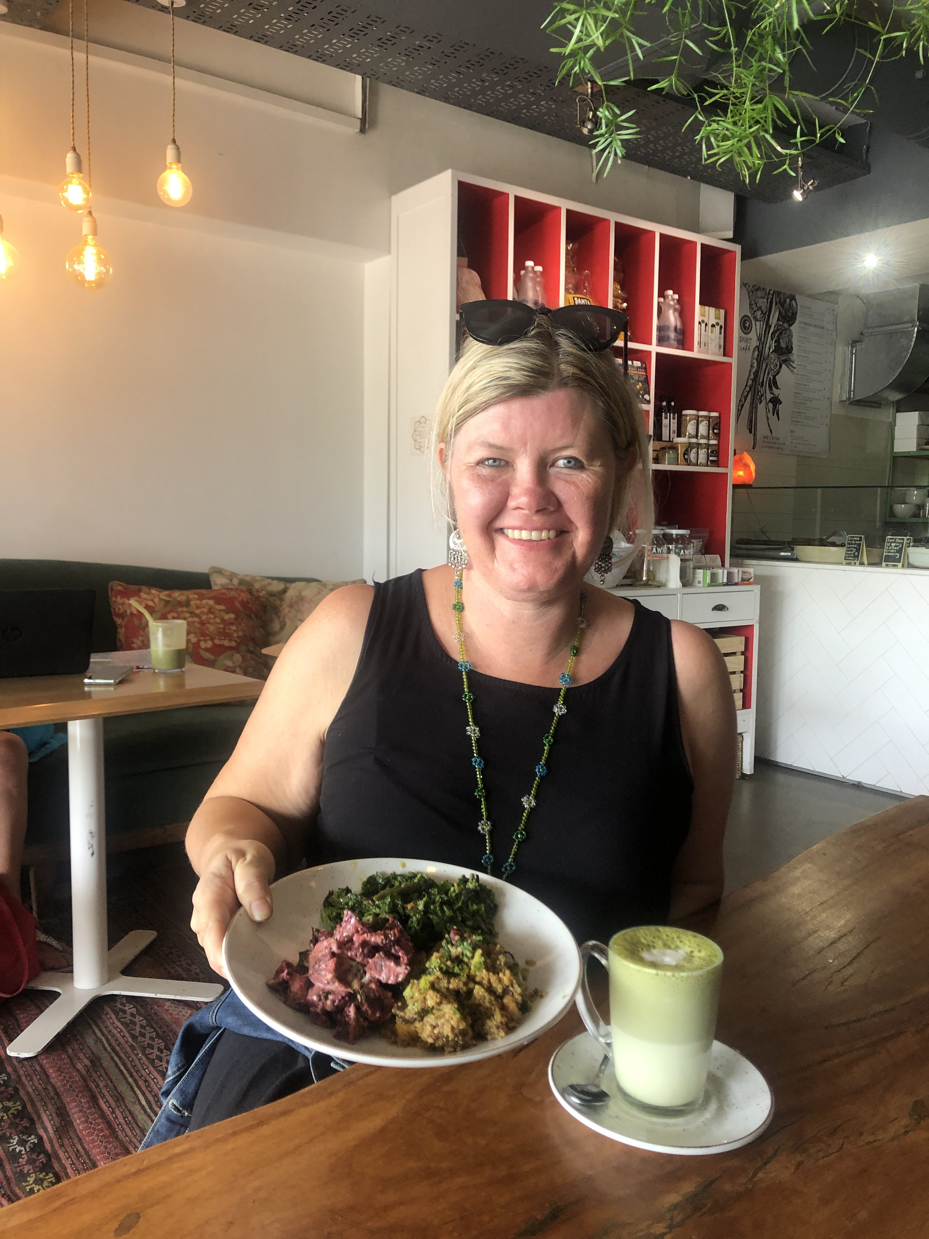 Spirt Cafe Constantia - highly recommended for fabulous salads